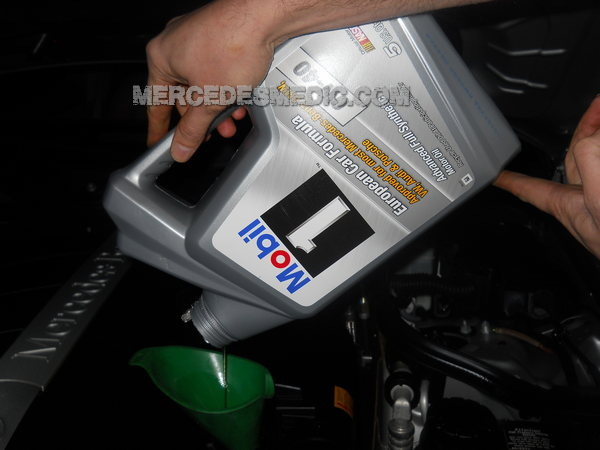 C300 motor oil for Mercedes benz s550 oil change