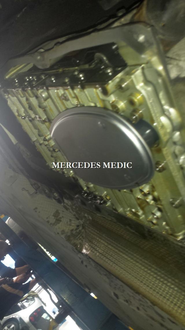 DIY Automatic Transmission Fluid Change 722 6 5-Speed – MB Medic