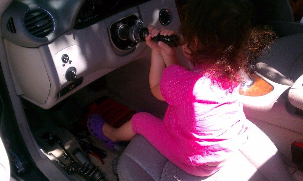 Removing Airbag Steering Wheel Clock Spring Turn Signal