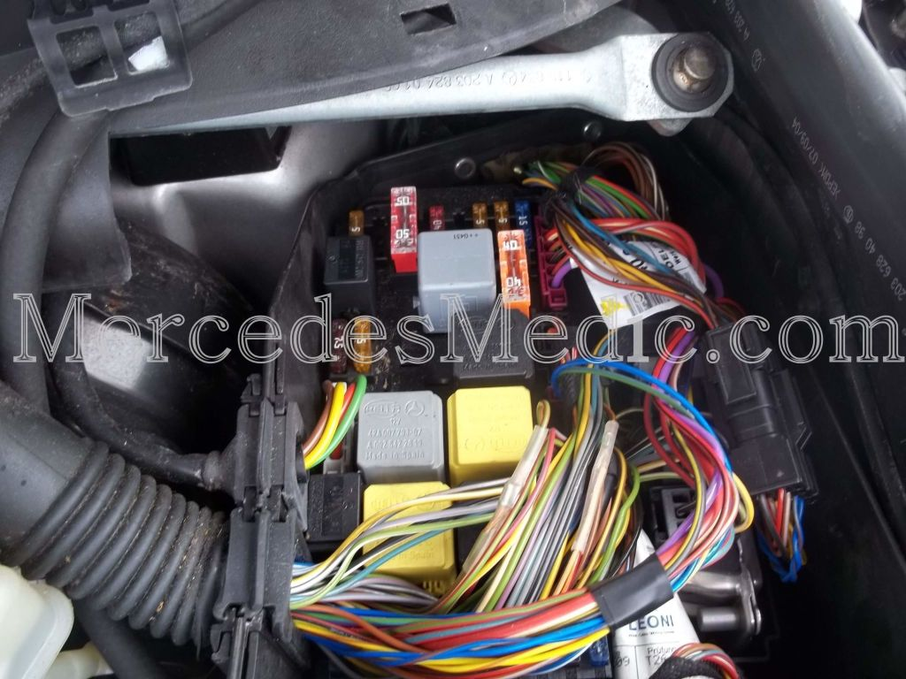 Wiring Kit For Mercedes C230 To Pioneer from www.mercedesmedic.com