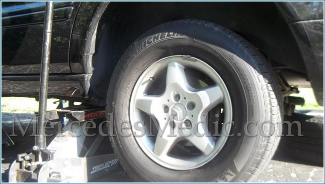 Mercedes GL450 2007 Emergency//Parking Brake Shoes