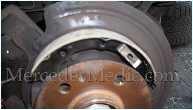 Mercedes ML63 2007 2008 Emergency//Parking Brake Shoes