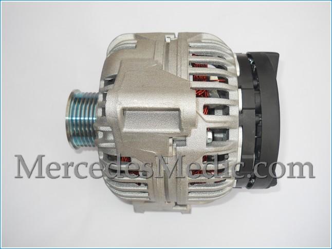 how to replace alternator on a mercedes benz e c clk slk s class rh mercedesmedic com 1974 VW Alternator Wiring Diagram Alternator Regulator Wiring Diagram