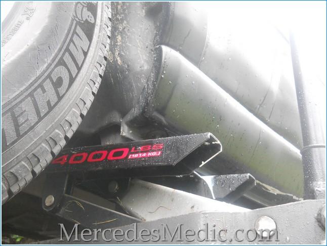 C Mercedes Spare Tire On Amazon