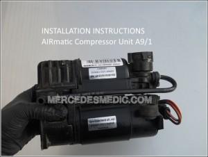 MERCEDES-BENZ_air_matic_air_compresor_repair_how_to_replace_01