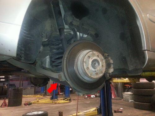 2000 mercedes e320 wagon rear shocks
