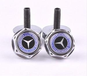 Top 10 mercedes benz accessories mb medic for Mercedes benz tag screws