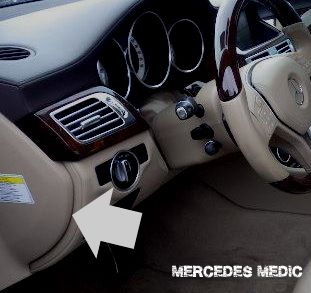 2012 2016 mercedes benz cls class w218 fuses and relays \u2013 mb medic Mercedes ML Fuse Box Location