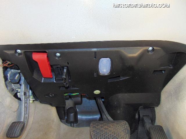 Hood Releae Park Brake Switch Pedal Under Dash Location  U2013 Mb Medic