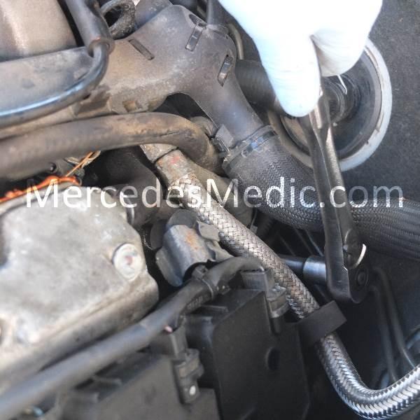 DIY Mercedes Benz Crank No Start Crankshaft Position Sensor