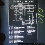 1998-2005 Benz ML320 ML350 ML500 Fuse Box Location Diagram – MB Medic | 1998 Ml320 Fuse Box Info |  | Mercedes Medic