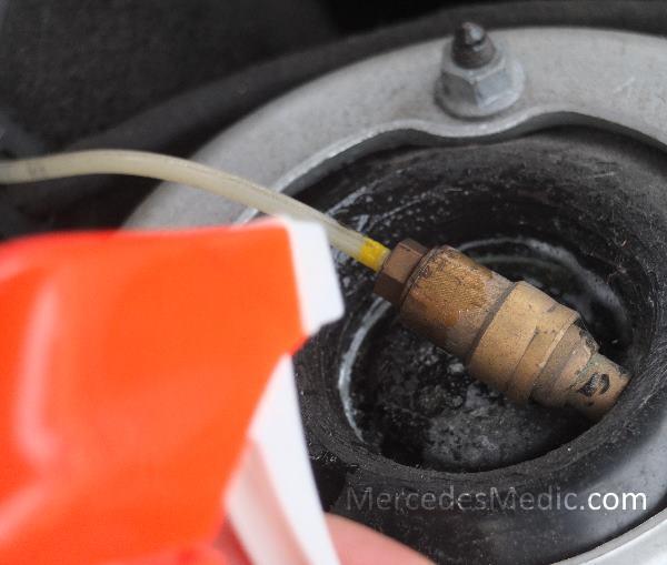 leak test airmatic air suspension mercedes benz
