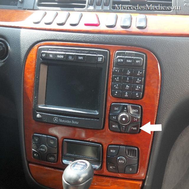 w220 radio