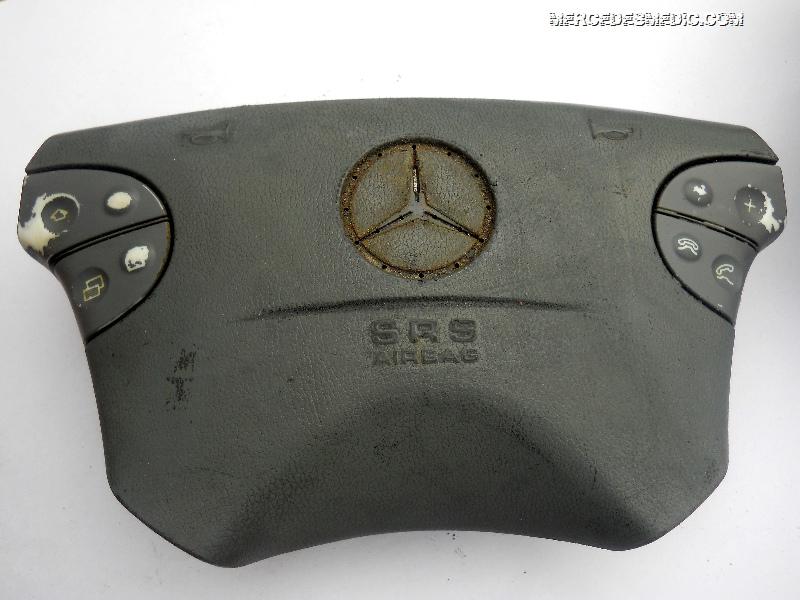 dirty mercedes benz airbag