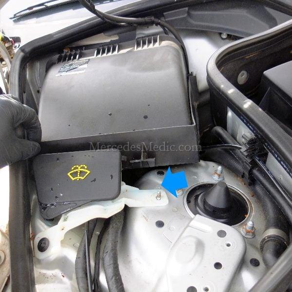 Cabin Air Filter Replacement >> Cabin Air Filter Replacement Mercedes Benz E Class Cls Class