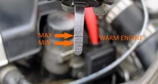 Power steering fluid level min max mercedes benz