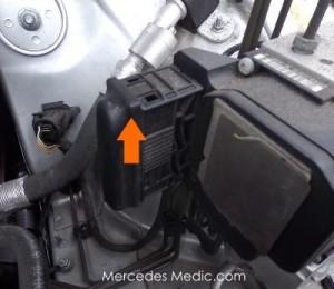 abs ets hydraulic unit mercedes benz