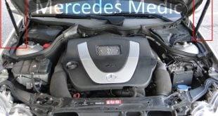 mercedes hood problem diy howto