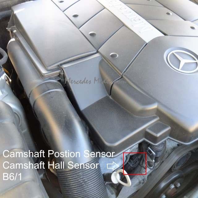2006 Mercedes Benz Cls Class Camshaft: Mercedes Camshaft Postion Sensor