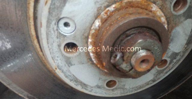 Rotor wheel bearing