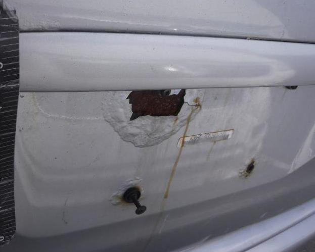 Mercedes common problem rust