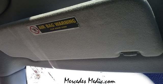 Mercedes Sun Visor Problems Easy Fix Mb Medic