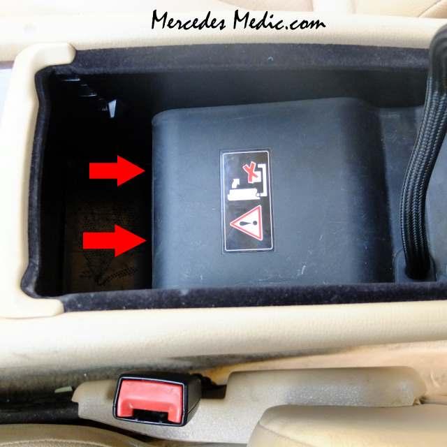 Service Manual Removing Center Console 2012 Mercedes Benz