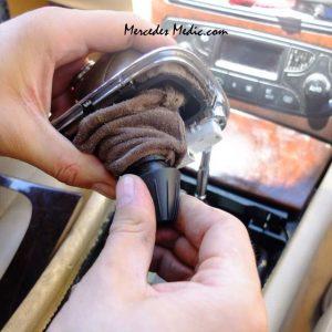 remove shifter knob