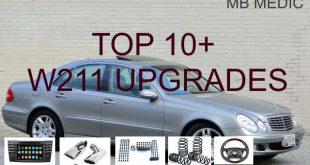 W211 MODS UPGRADES FOR W320 E500 E350