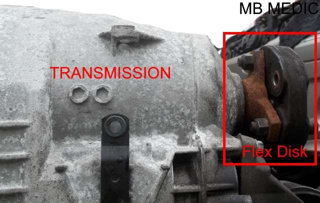 mercedes front flex disk