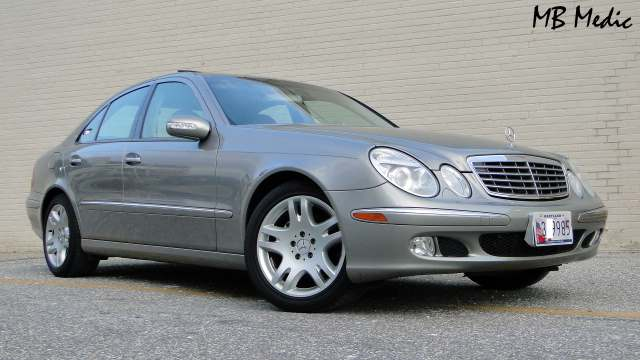 W211 Mercedes Review E