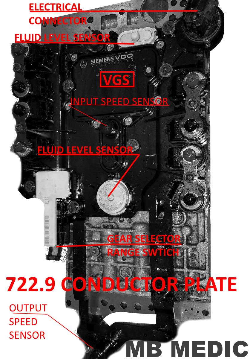 Mercedes 7229 7g Tronic Valve Body Conductor Plate Must Read E420 Engine Diagram Go To Top