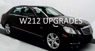 TOP W212 UPGRADE IDEAS