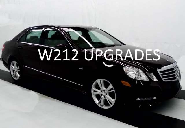 W212 Upgrade Ideas E