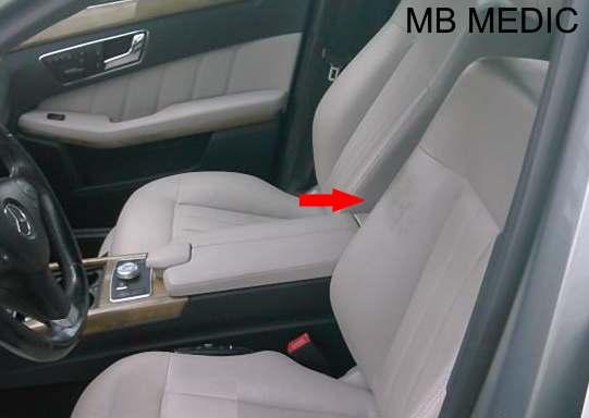 MERCEDES W212 INTERIOR PROBLEMS SEAT
