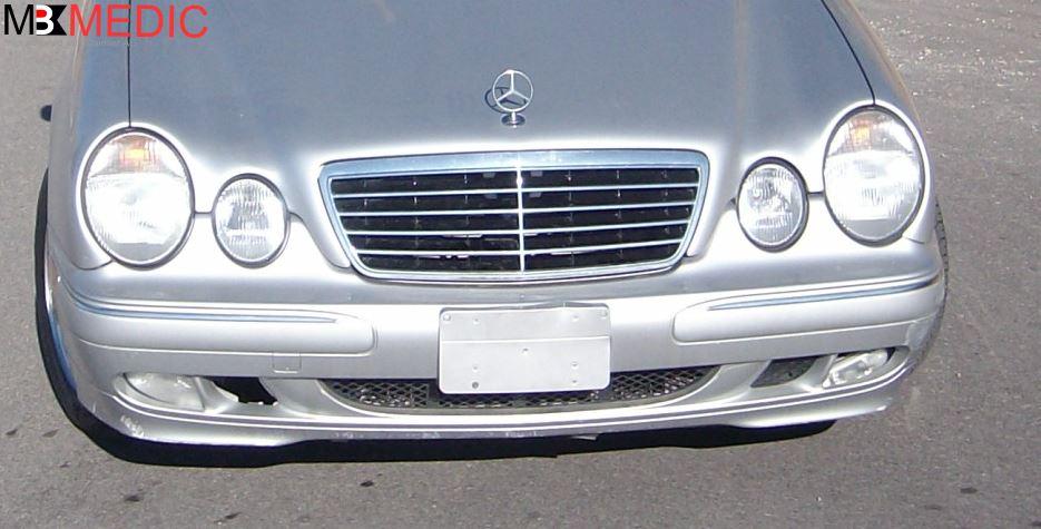 Diy How To Remove Front Bumper Cover E320 E430 W210 1996