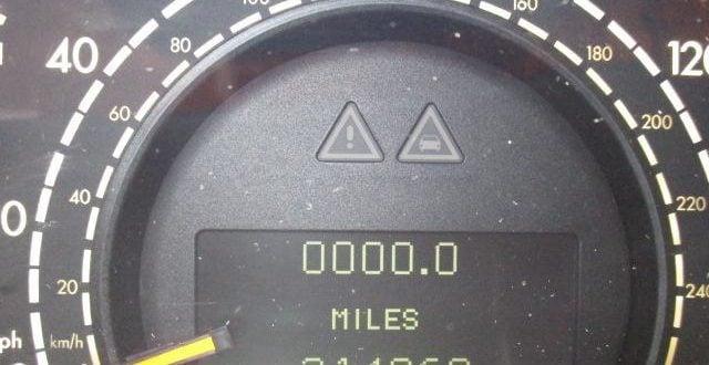 high mileage mercedes w220 s-class