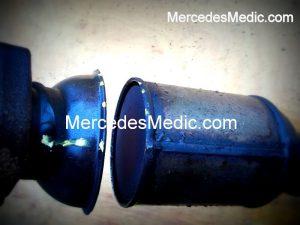 damaged catalytic converter