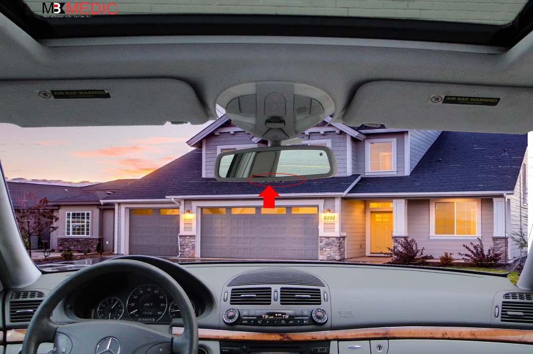 Program Car Garage Door Opener >> How To Program Mercedes Garage Door Opener Mb Medic
