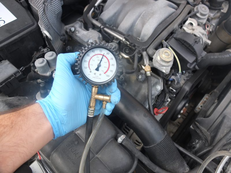 Mercedes Fuel Pressure Test Mb Medic