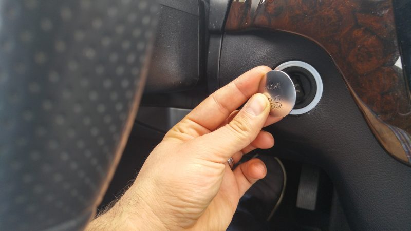 start mercedes benz manually dead key battery