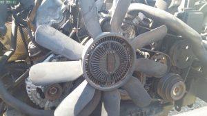 mercedes benz viscous fan removal