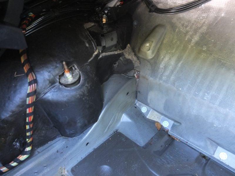 Mercedes Convertible Top Leak