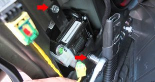 remove mercedes seat belt