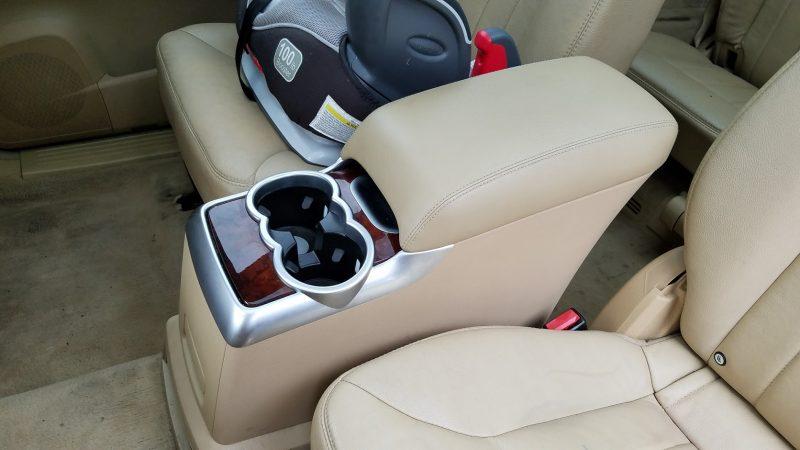 remove rear center console