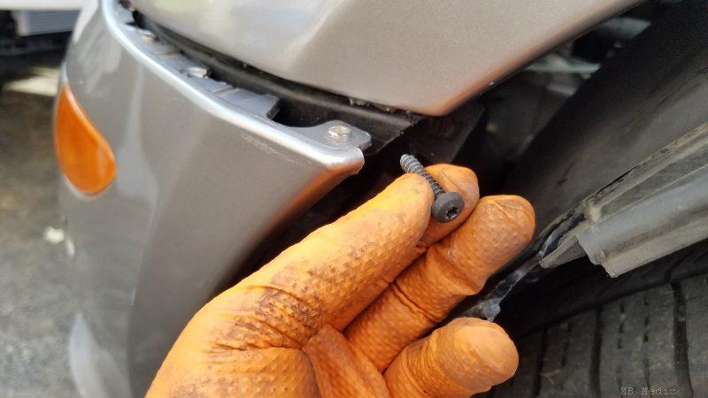 remove bumper on mercedes r350 r500