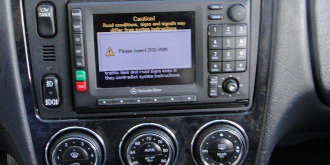 Identify Mercedes COMAND APS head unit – MB Medic