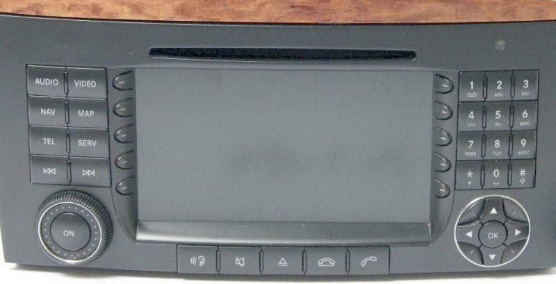 Mercedes MB R class W251 Comand APS NTG 2 navigation system retrofit kit