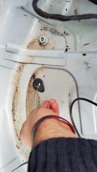 trunk drain plug